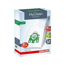 Miele Vacuum Bags HyClean 3D Efficiency U Dust Bag Pack 8 Dust Bags + 4 Filters