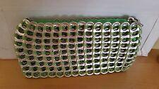 ESCAMA BRASIL STUDIO CLUTCH CHICA ROSA Green Metal Pop Tops & Crochet thread