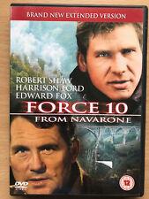 Harrison Ford FORCE 10 FROM NAVARONE ~ 1978 World War II Film Classic UK DVD