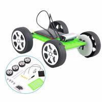 Mini Solar Powered DIY Car Kit Children Educational Gadget Amazing Kid Toy Set
