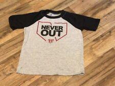 Boys Under Armour Baseball T-shirt size 6