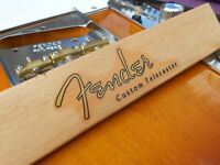 Fender Custom Telecaster Decal 50´s VintageStyle (Metallic Gold)