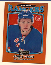 JIMMY VESEY 2016-17 O-PEE-CHEE OPC PLATINUM RETRO ROOKIE ORANGE RAINBOW /49