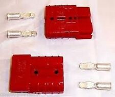 Anderson SB50 Connector Kit Red 6 Awg 6331G1 6 Ga  2 Pack Includes Domestic Ship
