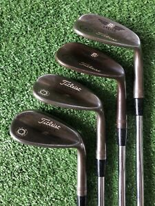 Titleist Vokey Wedge Set 48.06, 52.08, 56.10 & 58.08 Oil Can Finish