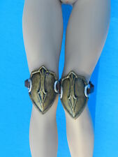 Hot Phicen Demon Huntress KNEE GUARDS gladiator spartan armor 1/6 Scale toys