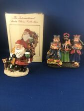 2 The International Santa Claus Collection Julenisse Norway & 3 Kings Nicaragua