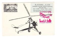 Great Britain FIRST FLIGHT-Mu#240-AUTOGIRO-WINDSOR TO LONDON