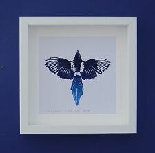 Magpie - a limited edition lino print
