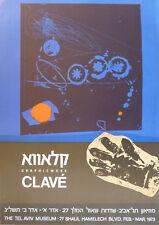 Antoni CLAVÉ (1913-2005) Affiche d'art en lithographie 1973 Abstrait Abstract