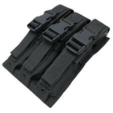 Condor MA37 BLACK Tactical MOLLE MP5/.22/9mm Magazine Clip Holster Pouch
