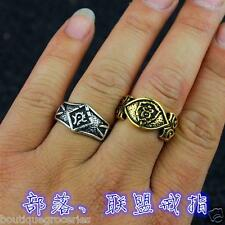 New World of Warcraft (WOW) The Horde Ring The Alliance Ring Lovers Gift