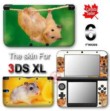 Mouse Guinea Pig Pet Cute SKIN VINYL STICKER DECAL COVER for Nintendo 3DS XL