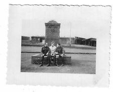 Foto, Drei Soldaten in Uniform, Lager, Foto aus Eltville, Rhein