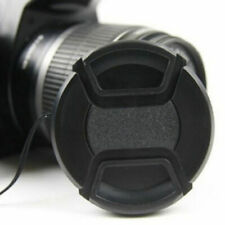 Universal 43mm Snap-On Front Lens Cap Cover Protector cord w/ For Camera