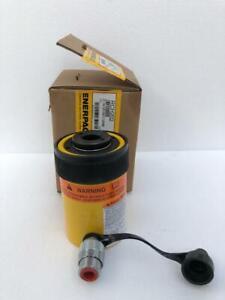 "Enerpac RCH 202 Hydraulic Holl-O-Cylinder 20 Tons Capacity 2"" Stroke Hollow Ram"