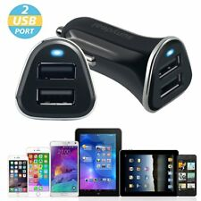 Dual 4.8A 2 Port USB Car Charger Adapter For iPhone 5 6 7 Samsung HTC Universal