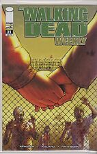 IMAGE THE WALKING DEAD WEEKLY  single issue  #21 VF/NM/M R. KIRKMAN