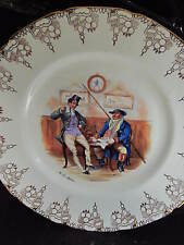 Royal Doulton Vintage English Bone China Dickens Series The Two Wellers Plate