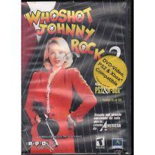 Who Shot Johnny Rock? COMPATIBILE PS2 Xbox DVD- Video Sigillato