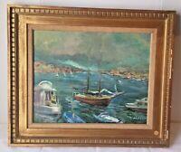 Raymond March Disney Fine Art Contest Winner Original Oil On Canvas Painting