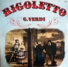 VINILE LP 33 GIRI RPM RIGOLETTO G.VERDI OPERA LIRICA PAGINE IMMORTALI  ITALY