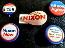 President Richard M. Nixon Assorted Campaign Buttons