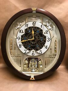 SEIKO Melodies In Motion Wall Clock QXM491BRH