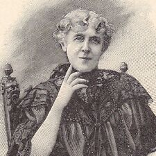 Portrait Brada Henrietta Consuela Sansom comtesse de Quigini Puliga Romancière