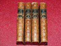 GUYTON DE MORVEAU / ELEMENTS DE CHIMIE Cplet 3/3 +1v  Essais Rare EO 1777 & 1762