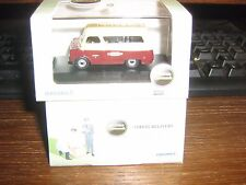 OXFORD DIE-CAST - BEDFORD CA MINIBUS - BRITISH RAIL CREW BUS LIVERY - 00 / 1:76