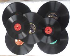 lot de 7 vinyle 78 tours ;tango ,valse ,passo doble