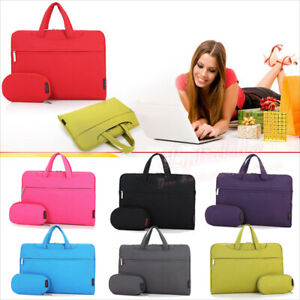Laptop Fashion Casual Canvas Carry Shoulder Sleeve Bags Case Messenger Satchel