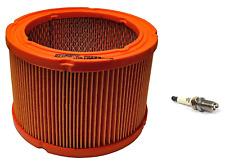 Generac OEM Generator Air Filter 0G5894 and Spark Plug for 496018T (RC14YC)