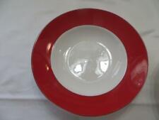 Lenox Kate Spade Rutherford Circle Red Soup Bowl New