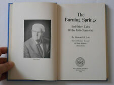New listing The Burning Springs And Other Tales Of the Little Kanawha by Howard B. Lee Hb Wv