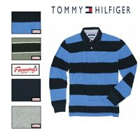 NEW! Tommy Hilfiger Men's Classic Fit Long Sleeve Mesh Polo Shirt VARIETY! B31