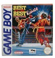 Nintendo GameBoy Spiel - Best of the Best Championship Karate mit OVP