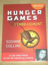 AUDIO LIVRE / HUNGER GAMES, L'EMBRASEMENT / SUZANNE COLLINS / NEUF SOUS CELLO