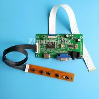 HDMI VGA controller board DIY kit For LP156WHB-TPA1/TPA2 1366*768 WLED EDP 30Pin