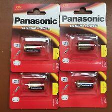 4 x Panasonic CR2 3V Batería de Litio Foto POWER DLCR 2 KCR2 cámara de CR17355