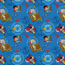 Disney Fabric - Jake and The Neverland Pirates - Cotton pirate