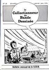CBD n°10. Le Collectionneur de Bandes Dessinées. L'AVENTUREUX, HURRAH,