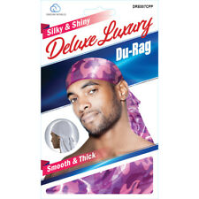 Smooth & Thick / Shiny & Silky Deluxe Du Rag Camouflauge Purple NEW!!!!!!!!!