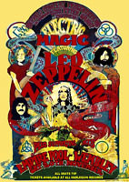 "Reproduction Led Zeppelin Concert Poster, ""Empire Pool - Wembley"", Home Wall Art"