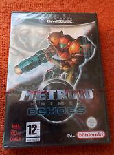 Gamecube Metroid Prime 2 Echoes Nuevo Sellado De Fábrica