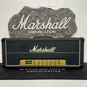 Marshall 1977 JMP Lead Master Volume 100w Head Model #2203 Black w/ Mullard