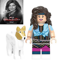 Agatha Harkness Minifigure Marvel Wanda Vision Scarlet Witch DC Comics Lego MOC