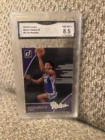 Marvin Bagley The Rookies 2018 Donruss Graded 8.5 Sacramento Kings