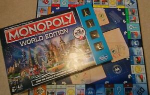 MONOPOLY HERE AND NOW WORLD EDITION SPARES Spare Extra Parts